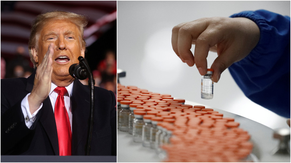 Trump says he will NOT force Americans to take coronavirus vaccine as polls show widespread skepticism about jab
