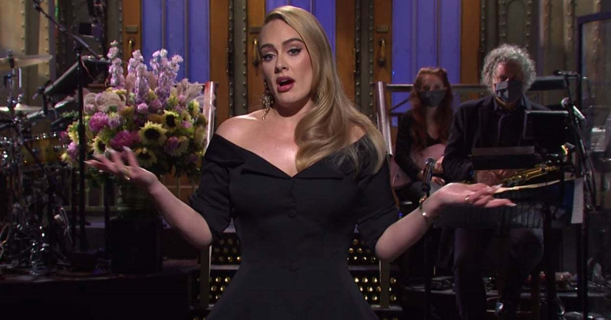 "Adele Addressed Her Weight Loss And Upcoming Album In Her ""SNL"" Monologue"