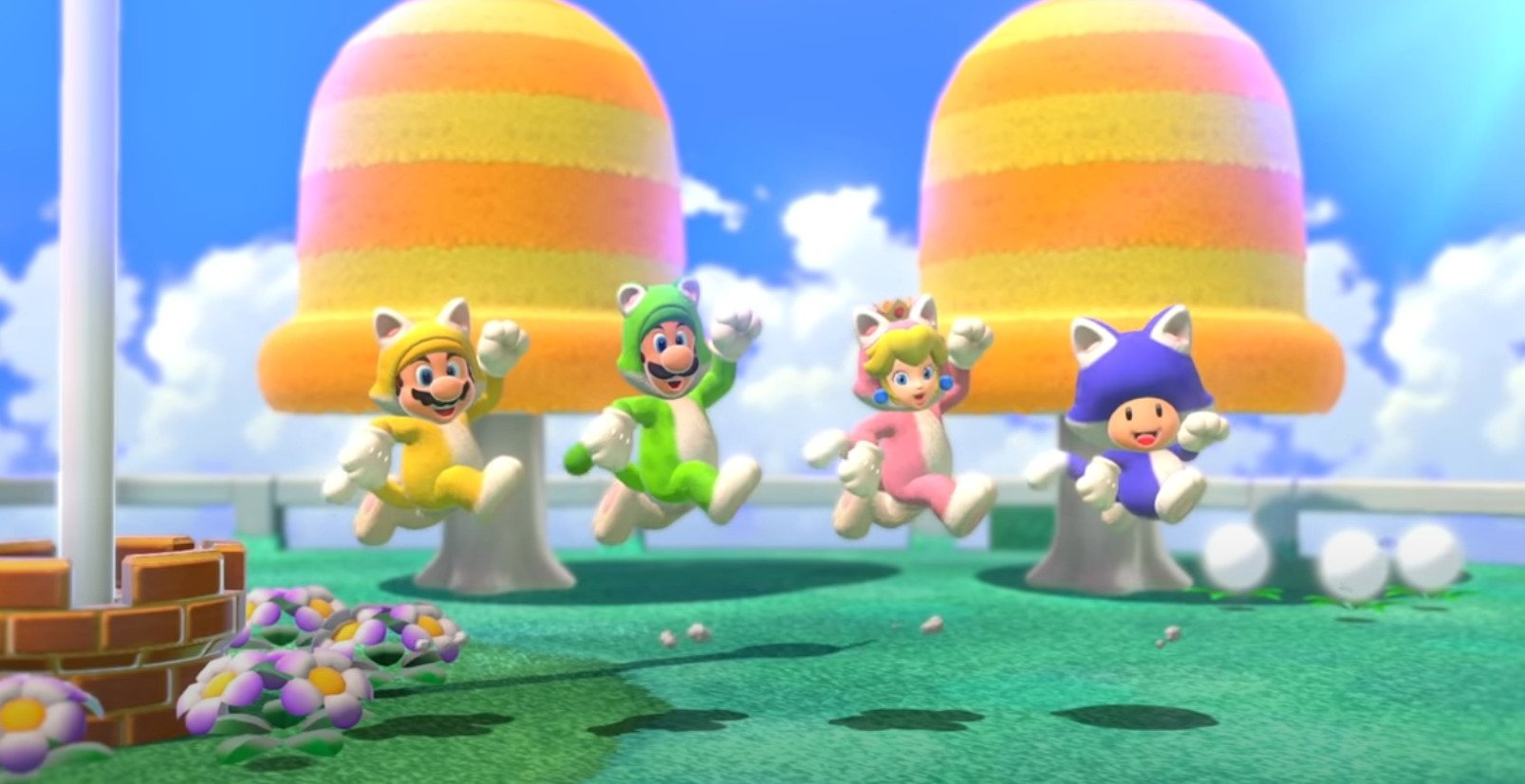 Narrator Trailer Released For Super Mario 3D World + Bowser's Fury On National Cat Day.