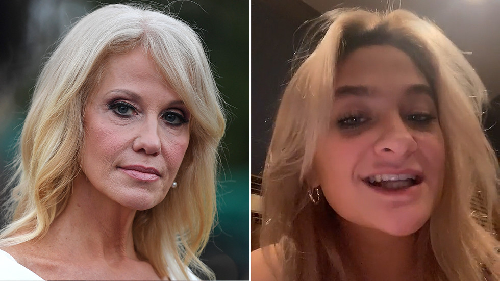 'She's 15. You are adults': Kellyanne Conway slams 'sick' social media speculators after daughter tweets Trump 'not better'