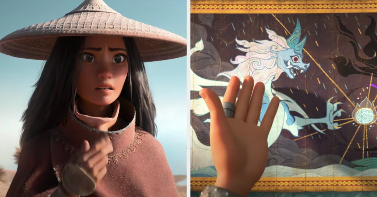 """Disney's """"Raya And The Last Dragon"""" Finally Has A Trailer And Holy Heck, Y'all"""