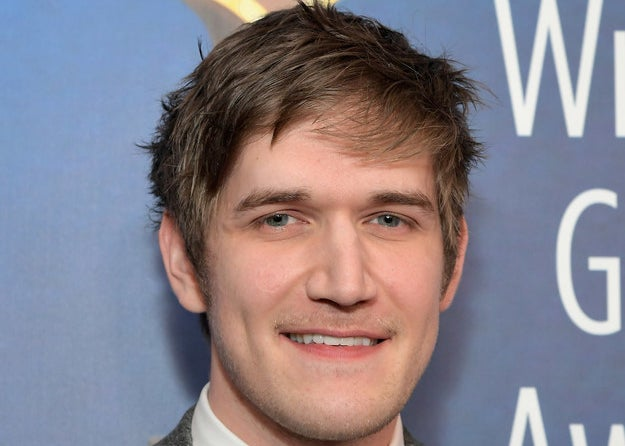 Close-up of Bo Burnham smiling