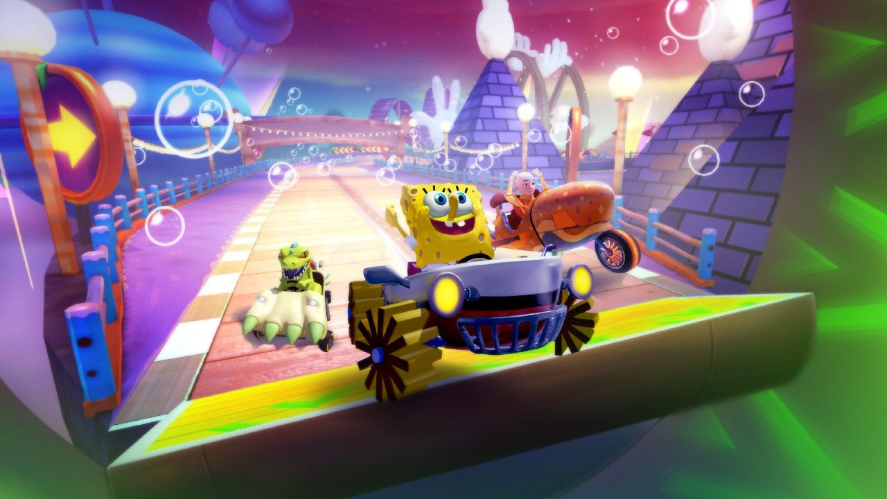 Nickelodeon Kart Racers 2 adds more customization, characters, and slime