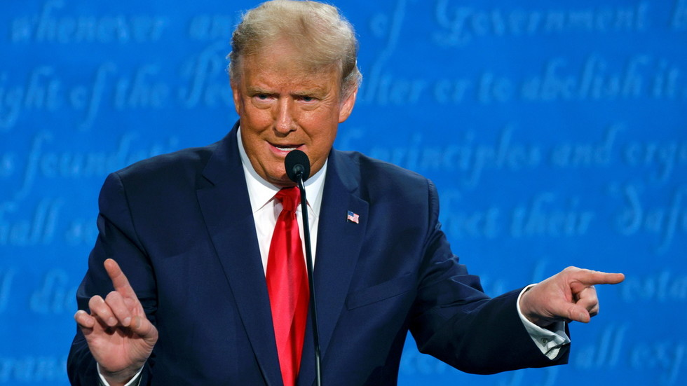 Trump declares himself 'least racist person in the room' as Biden says he 'dog whistles' to bigots at debate
