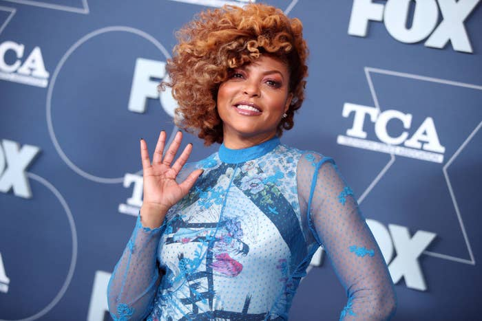 Taraji P. Henson attends the FOX Winter TCA All Star Party