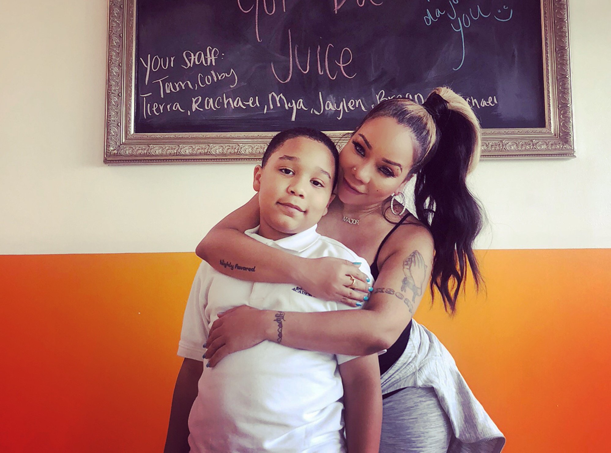 Tiny Harris Praised Her Genius Son, Major Harris – See The Family Photo She Posted