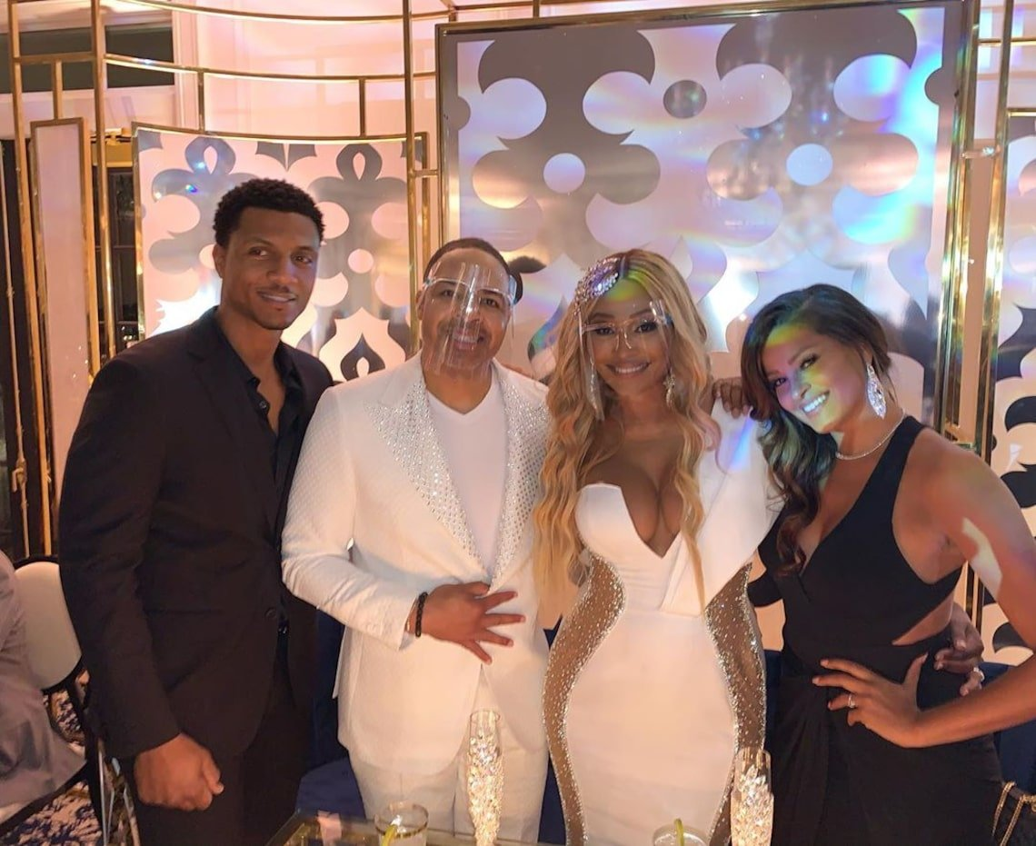 Cynthia Bailey Drops New Mesmerizing Pics From Her And Mike Hill's Wedding – See Her Jaw-Dropping Dress!