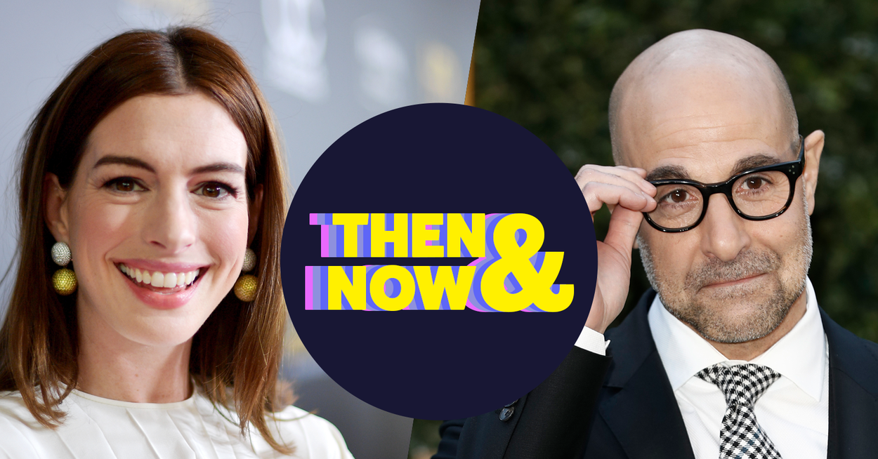 Gird Your Loins For This Trip Down Memory Lane With Anne Hathaway And Stanley Tucci