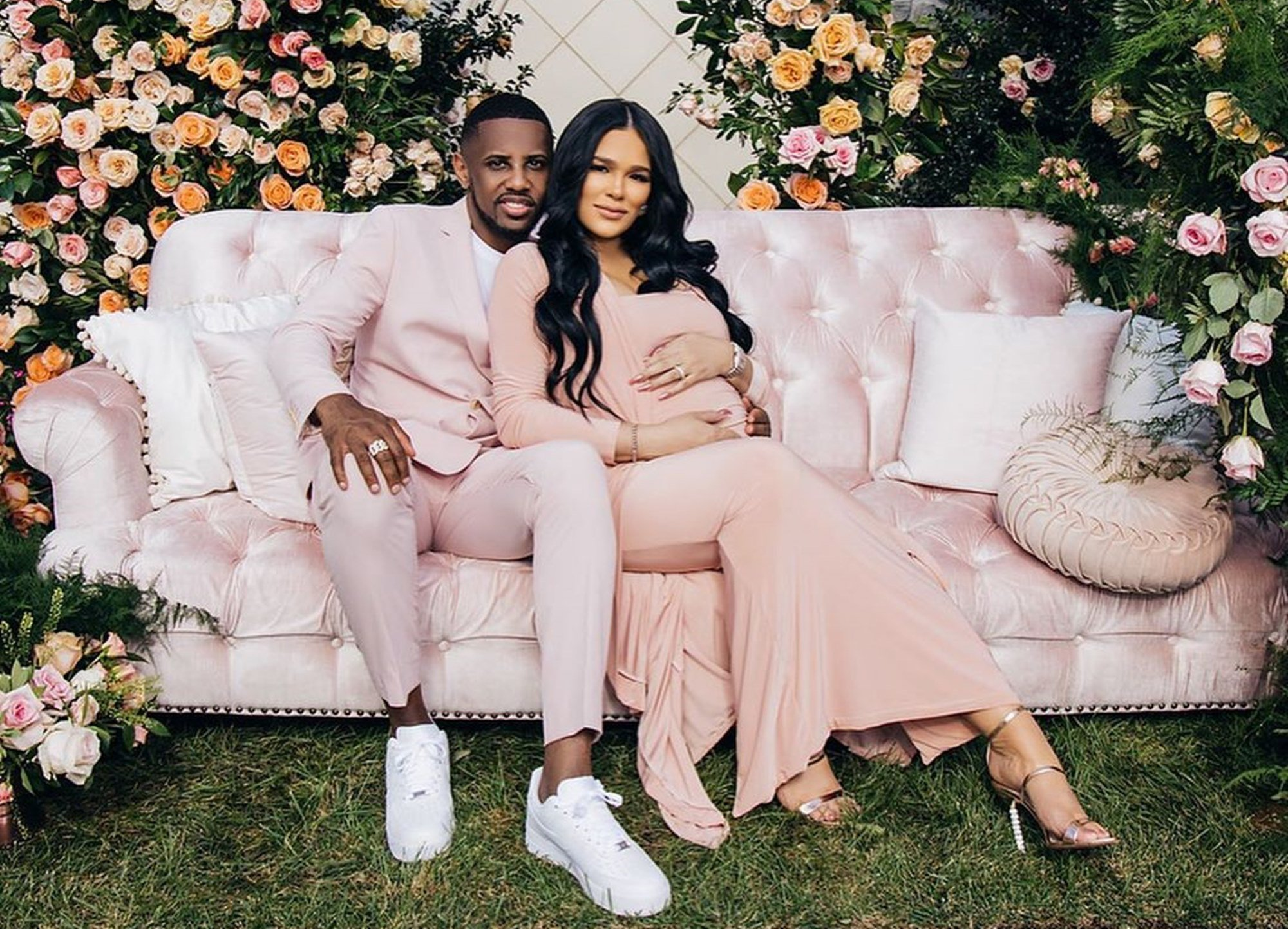 Emily B Looks Fantastic In New Maternity Photos — Some Fans Are Still Not Ready To Forgive Fabolous