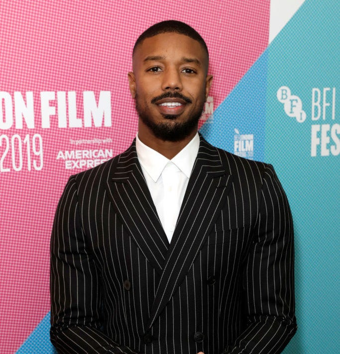 Michael at the 2019 London Film Festival