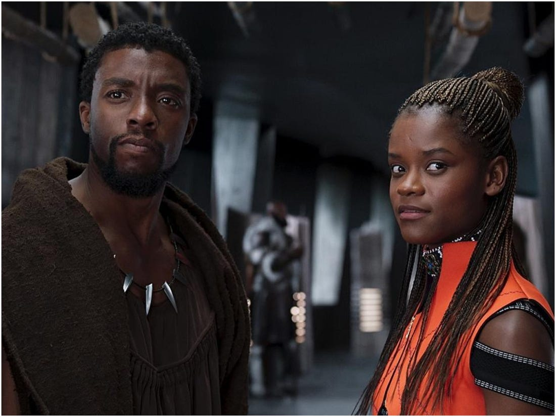 Letitia Wright Talks 'Black Panther' Sequel – Admits It Will Feel 'Strange' Shooting Without The Late Chadwick Boseman