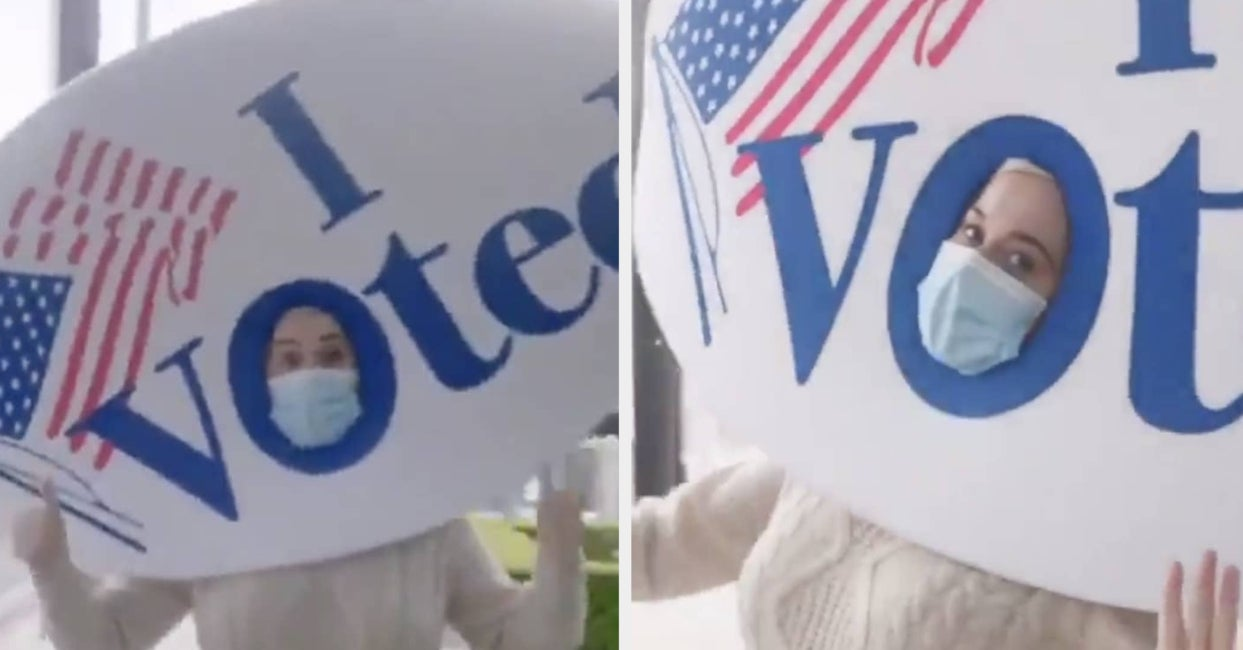 Katy Perry Shows That She Has Voted In The Most Katy Perry Way Possible