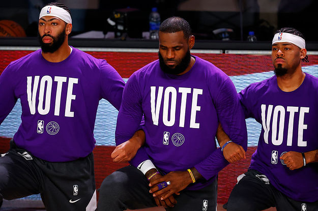 Here's How Professional Athletes Are Encouraging People To Get Out And Vote