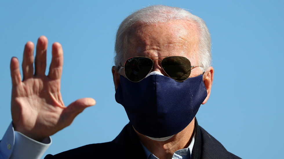 Joe Biden breaks silence on Hunter emails scandal, calls it 'last-ditch' smear job as VIDEO shows staffer trying to end interview
