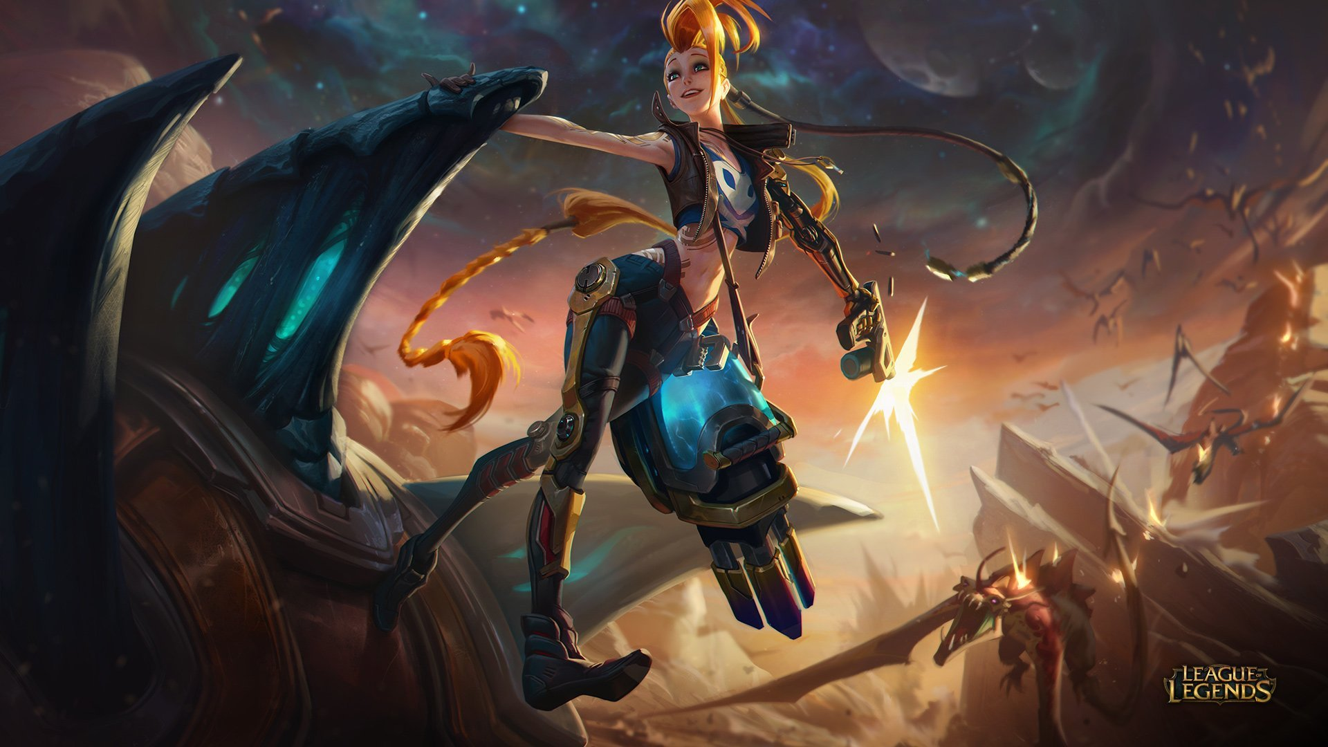 One Of Best ARAM Jinx Runes, Masteries, Early And Core Items For Current League Of Legend Season Ten
