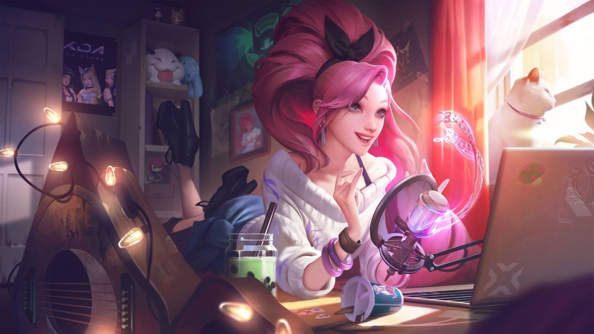 Here Are Seraphine's Abilities, Latest Champion In League Of Legends Which Is Coming Later This Month