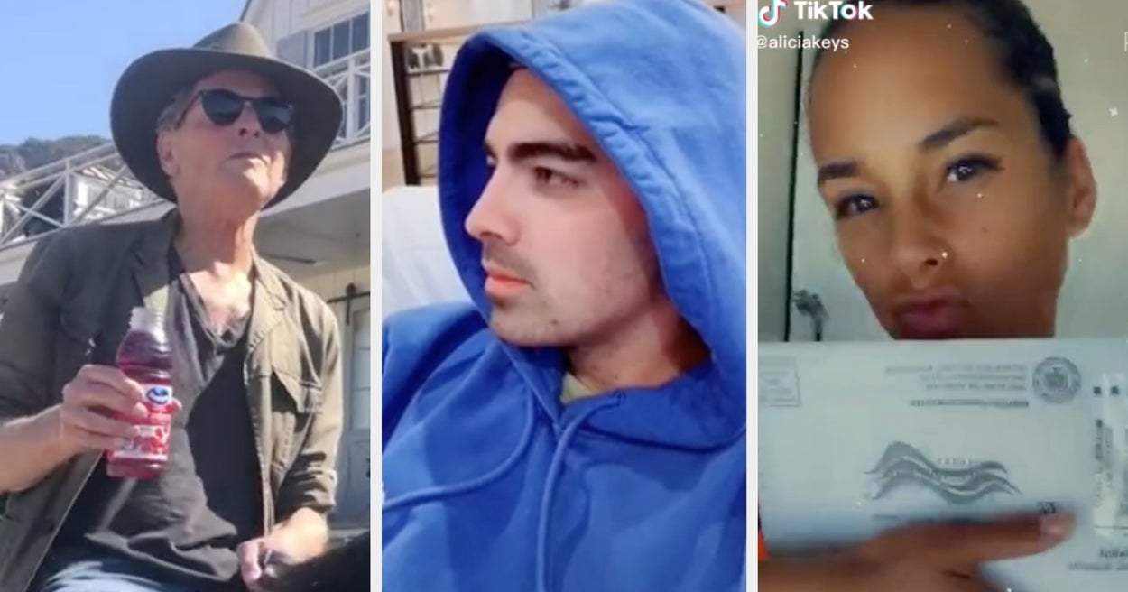 "Joe Jonas Re-Created This Iconic ""Camp Rock"" Moment, And 15 More Things Celebs Did On TikTok This Week"