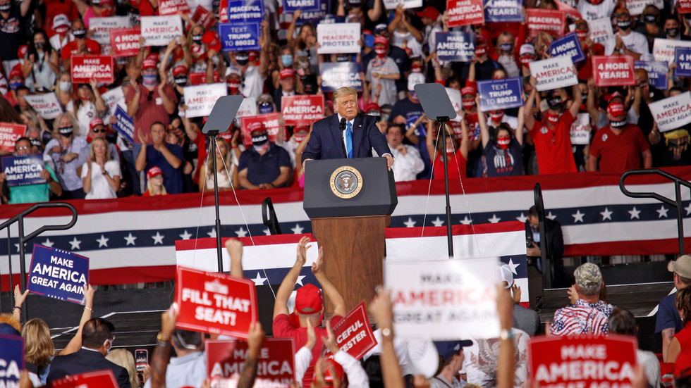 Back on the trail: Trump says he might hold rally in Florida on SATURDAY after doctor gives clean bill of health