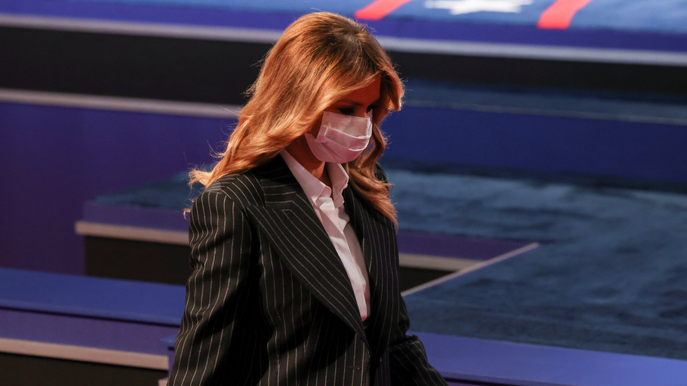 Melania Trump cancels campaign event with Donald over 'lingering cough' following Covid diagnosis
