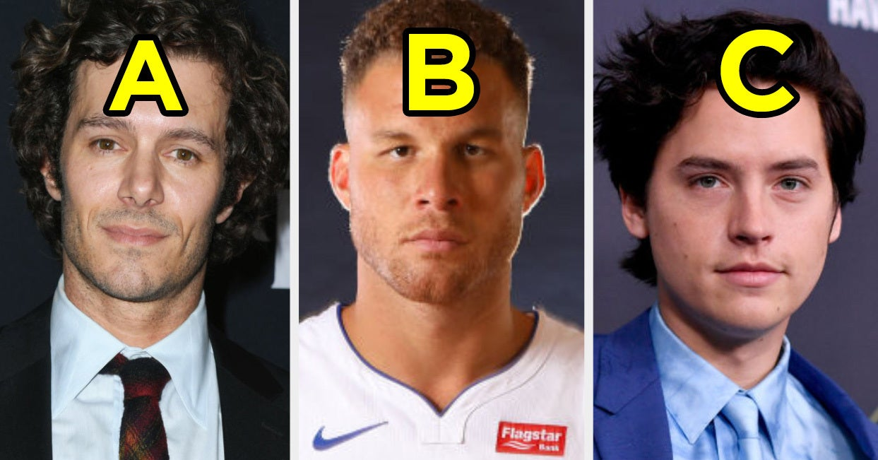 Choose A Hot Famous Guy For Every Letter Of The Alphabet And We'll Reveal Your Love Language