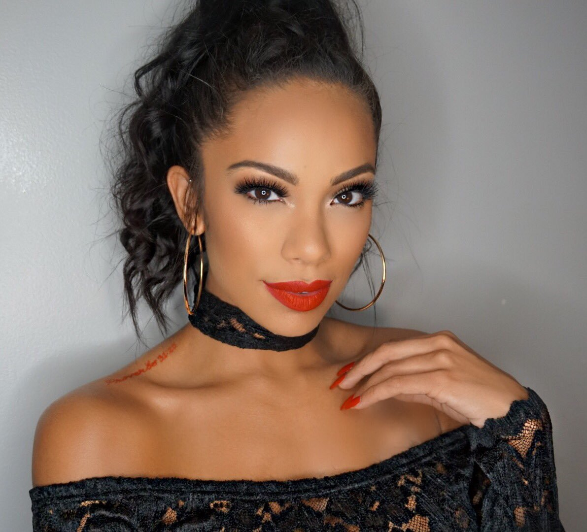 Erica Mena Shows Fans The Secret That Keeps Her Skin Glowing – See The Clip