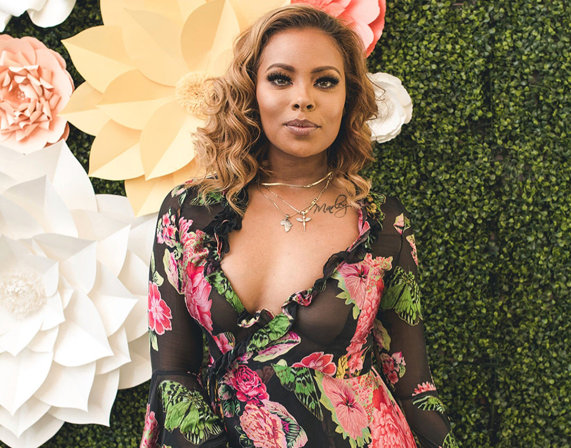 Eva Marcille Shares Juicy Photos With Mike Sterling From Cynthia Bailey's Wedding – Haters Try To Body Shame Her