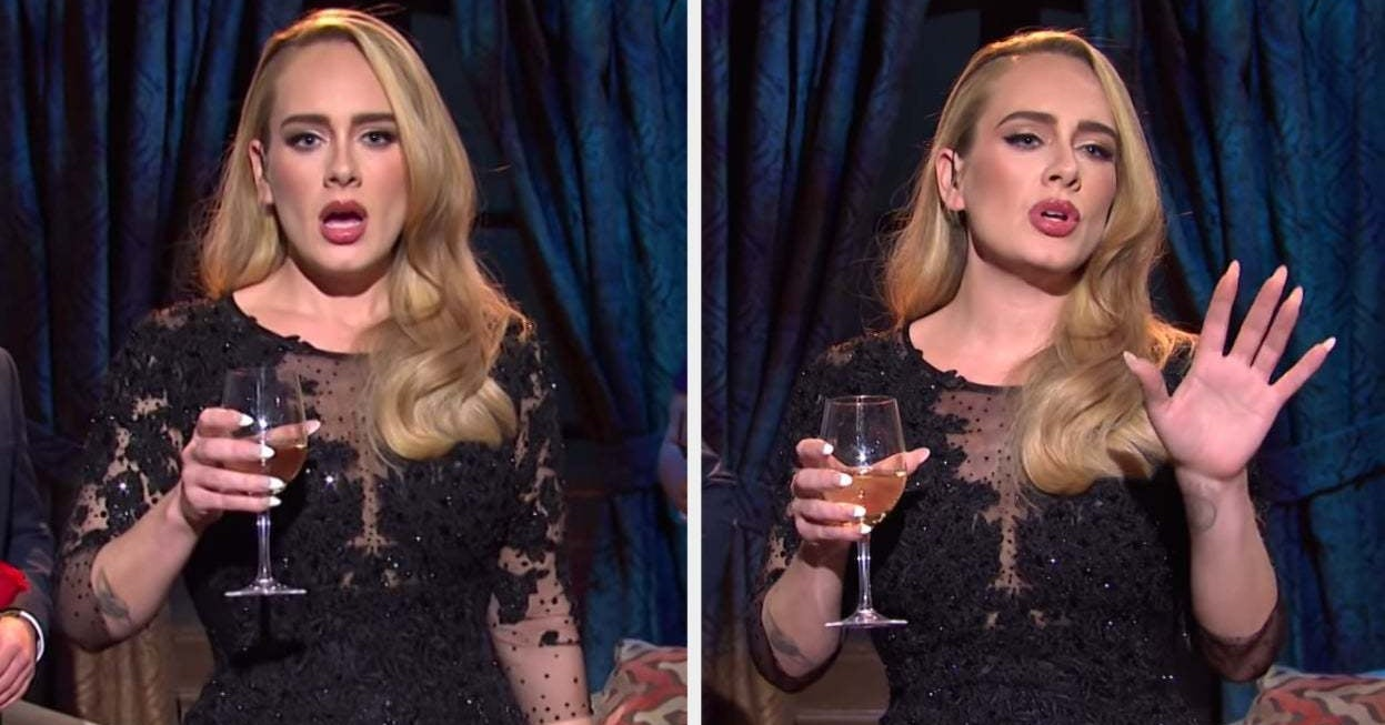 """Adele Broke Into Song During A """"Bachelor"""" Sketch On """"SNL"""" And, Yeah, It's As Incredible As It Sounds"""