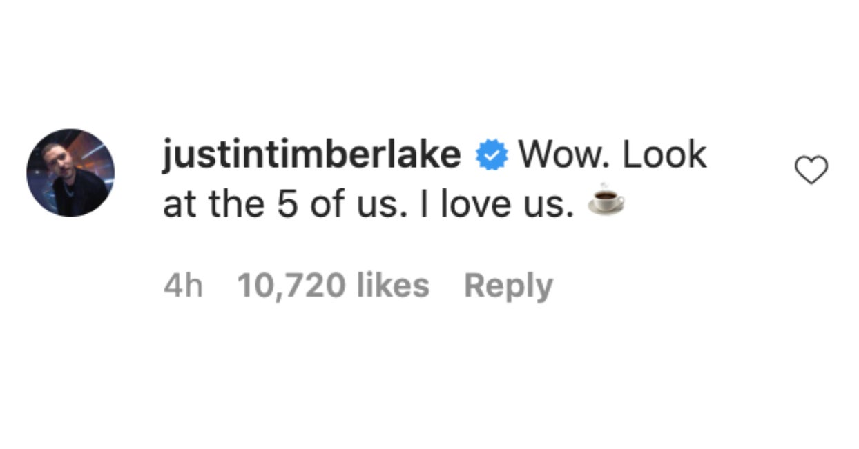 Jimmy Fallon Posted This Precious Pic Of His Fam, And Justin Timberlake Posted An Even More Precious Comment