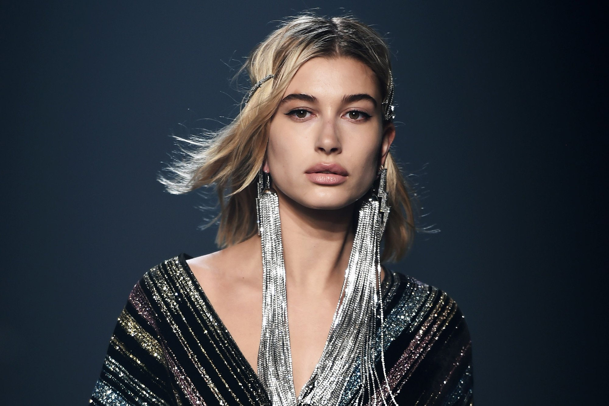Hailey Baldwin Shows Support To Joe Biden And Shades Donald Trump On World Mental Health Day