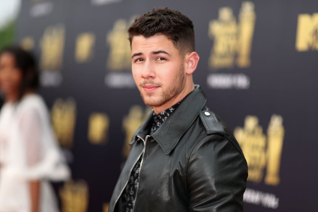 Singer Nick Jonas attends the 2018 MTV Movie And TV Awards