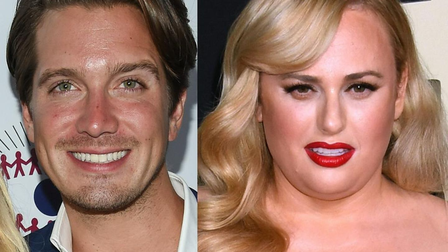Rebel Wilson's Hunky Boyfriend Sweetly Kisses Her On Date Night – Check Out Her Stunning White Dress!