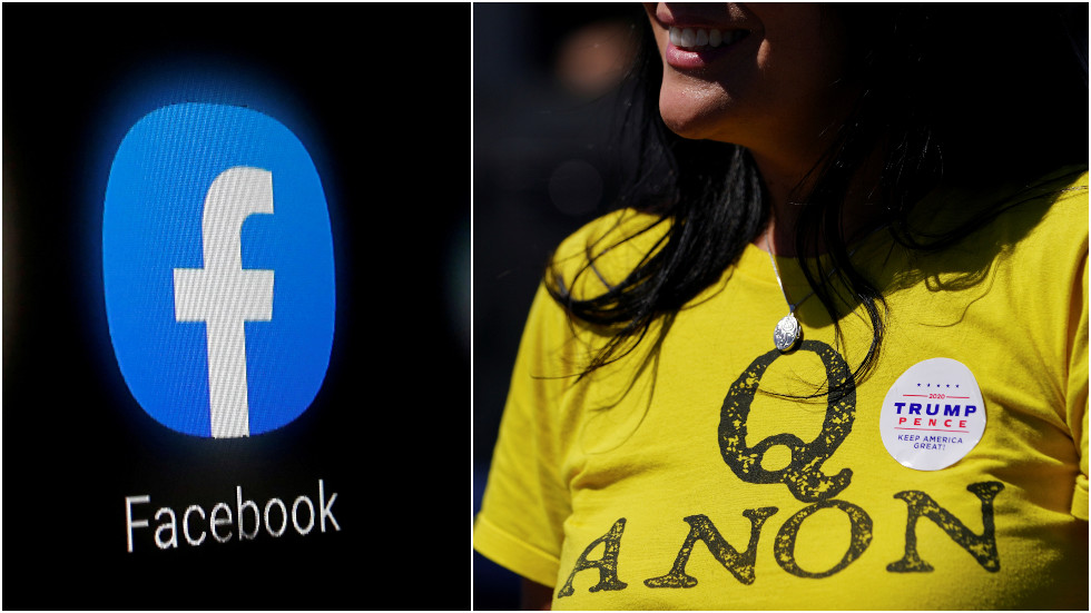 Facebook & Instagram to purge ALL accounts 'representing QAnon,' even those that don't share 'violent content'