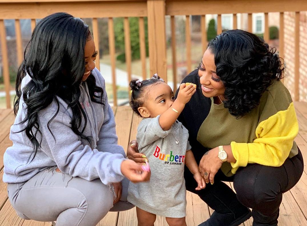 Toya Johnson Is Twinning With Her Daughter Reign Rushing In The Park – Check Out This New Photo Session