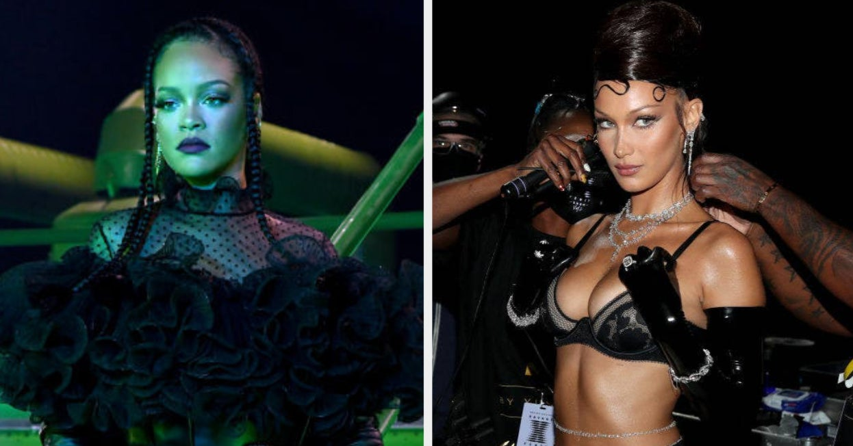 "The First Celeb Pics From Rihanna's New ""Savage X Fenty Show"" Are Here, And Oh My, The Bill Is Stacked"