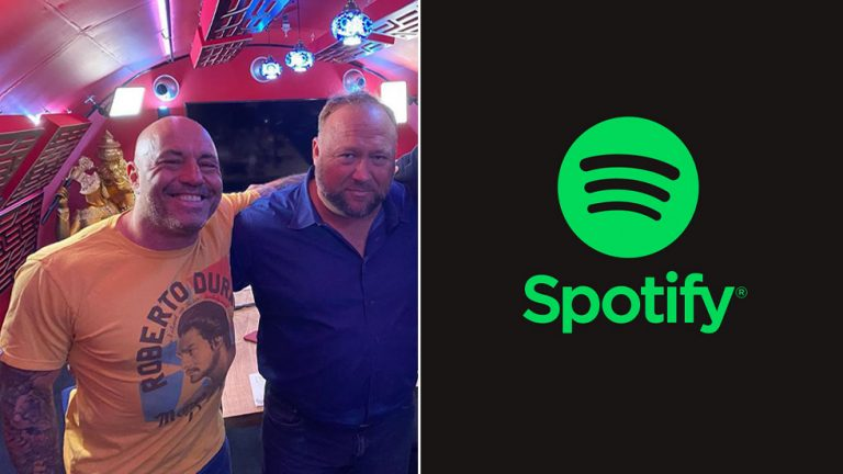 Joe Rogan sparks UPROAR with latest Alex Jones podcast episode, listeners vow to cancel Spotify subscriptions