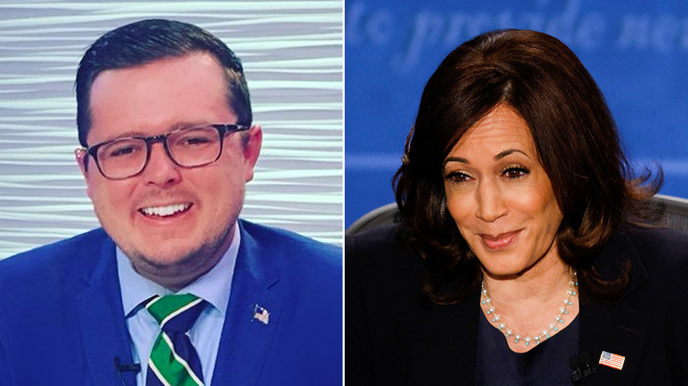 'Misogynistic loser': Fox News contributor eviscerated on Twitter for calling Kamala Harris an 'insufferable lying bi**h'
