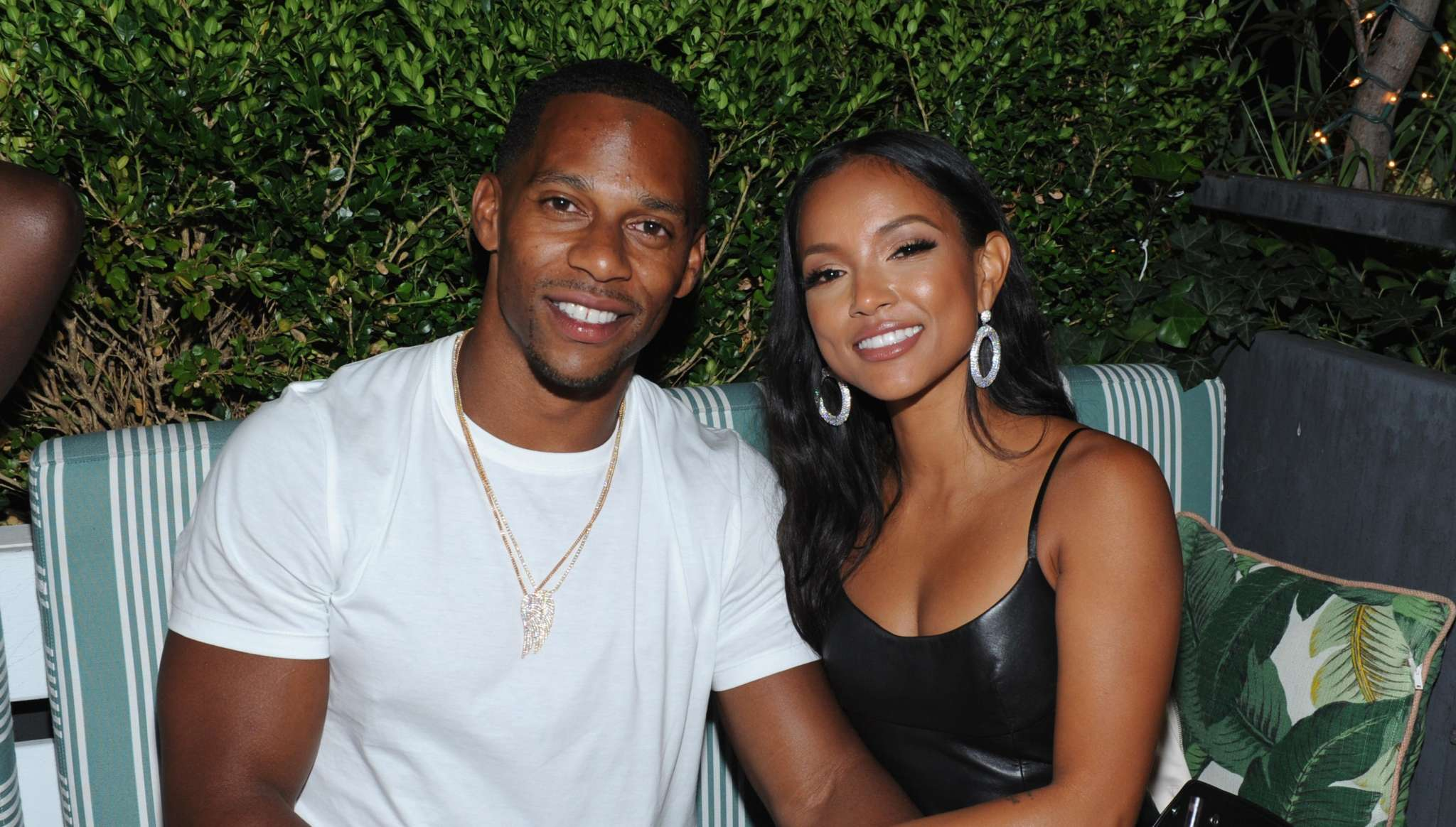 Victor Cruz Says He Was 'Nervous' When Meeting GF Karrueche Tran's Family – Here's Why!