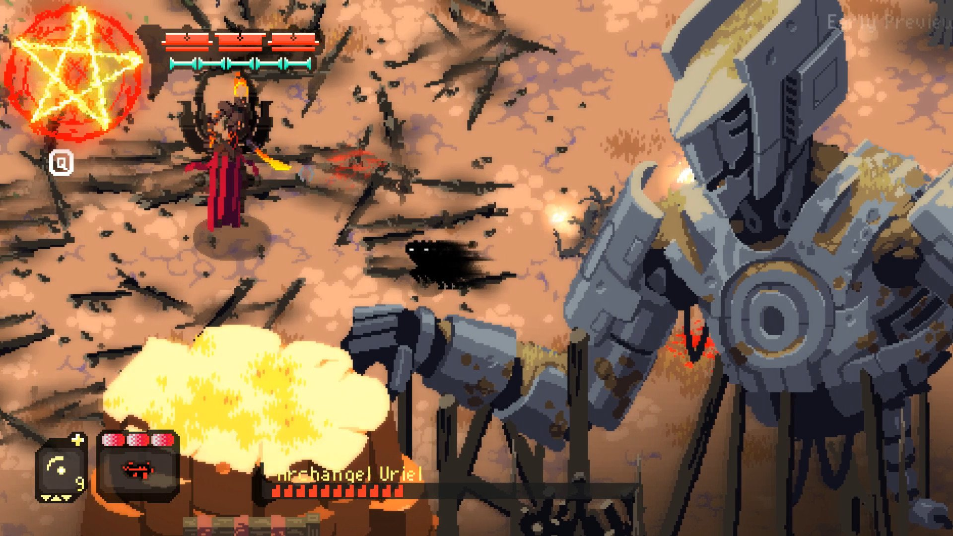 Fallen Angel Is Officially Launched Onto Steam For PC Audiences