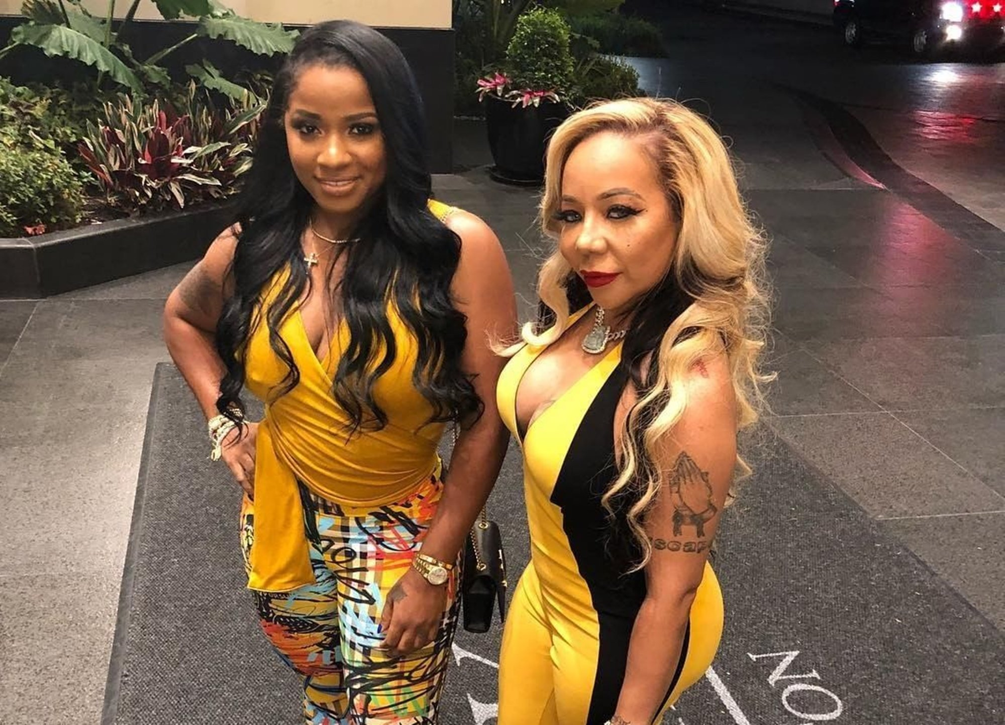 Tiny Harris Supports Her BFF Toya Johnson, Following The Launch Of Her Commercial