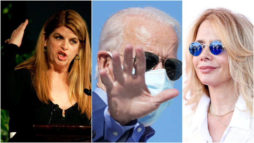 Actress Kirstie Alley spars with fellow celeb Rosanna Arquette after tweeting 'radical left' will be in charge if Biden wins
