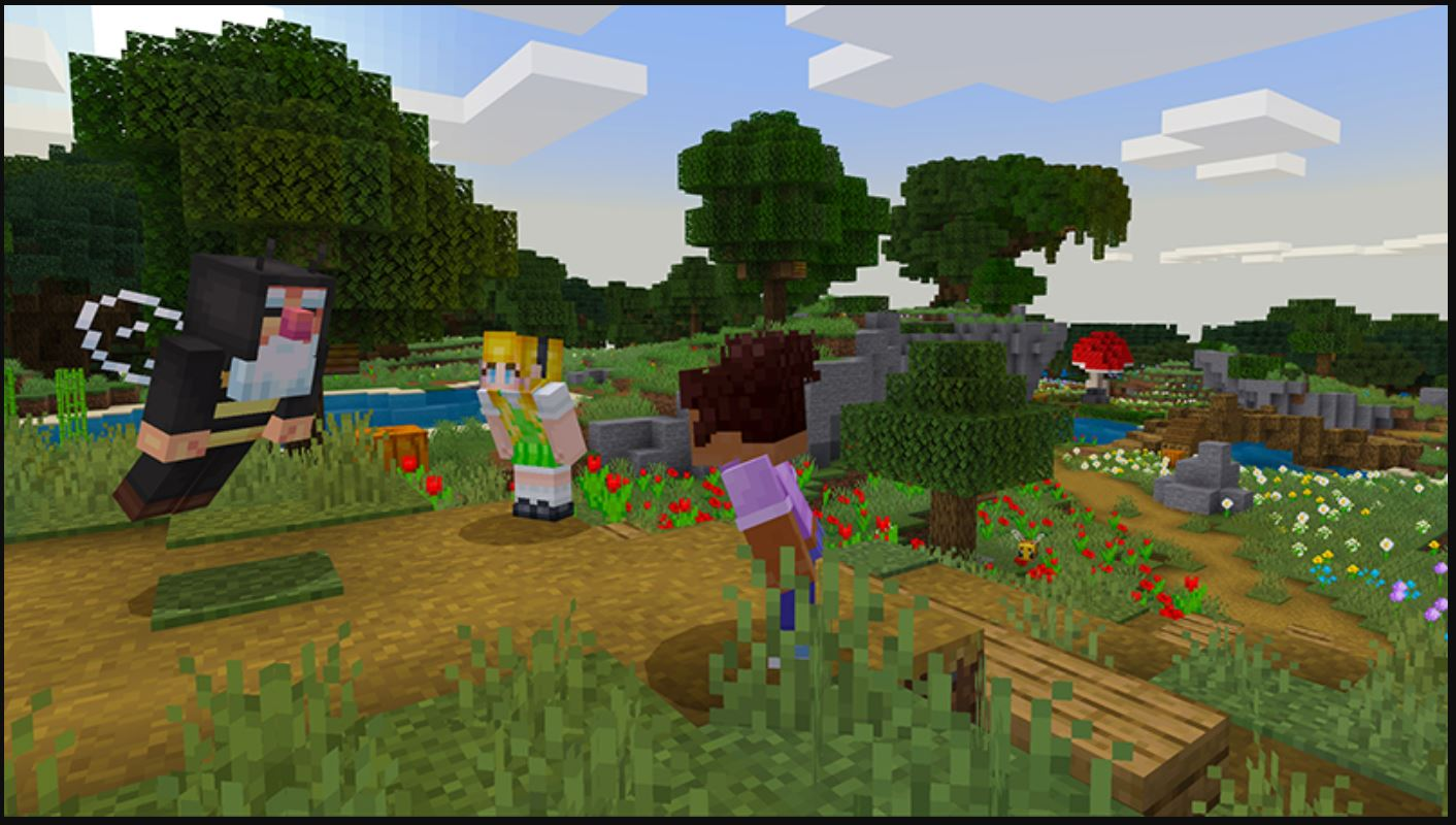 Minecraft Marketplace Explored: Way of the Bee, A Way For Players To Feel Like A Bee