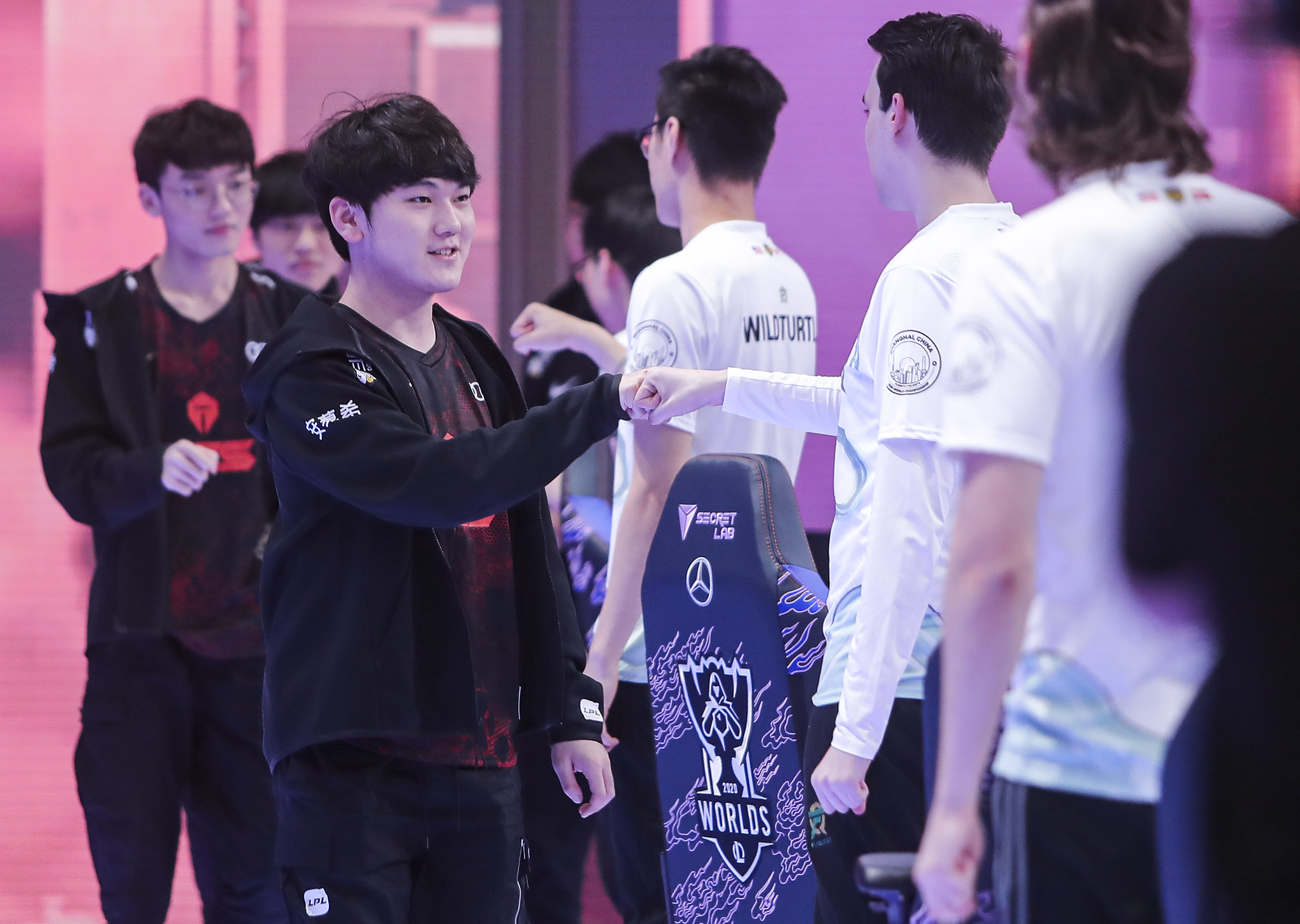 League Of Legends World Championship 2020 Main Group Event Day Eight: UOL Vs Top Esports