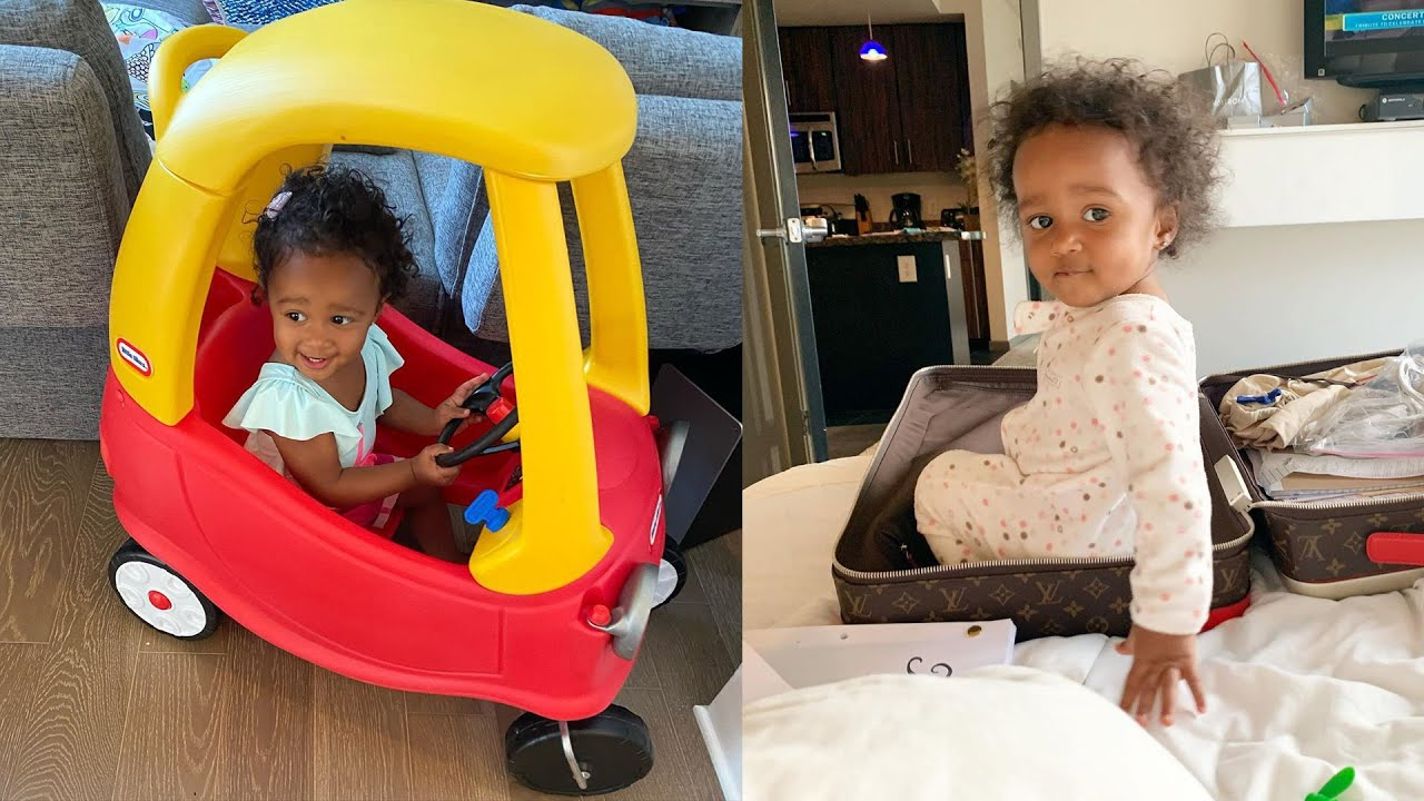 Kenya Moore Praises Her Baby Girl, Brooklyn Ahead Of Her Two-Year Anniversary