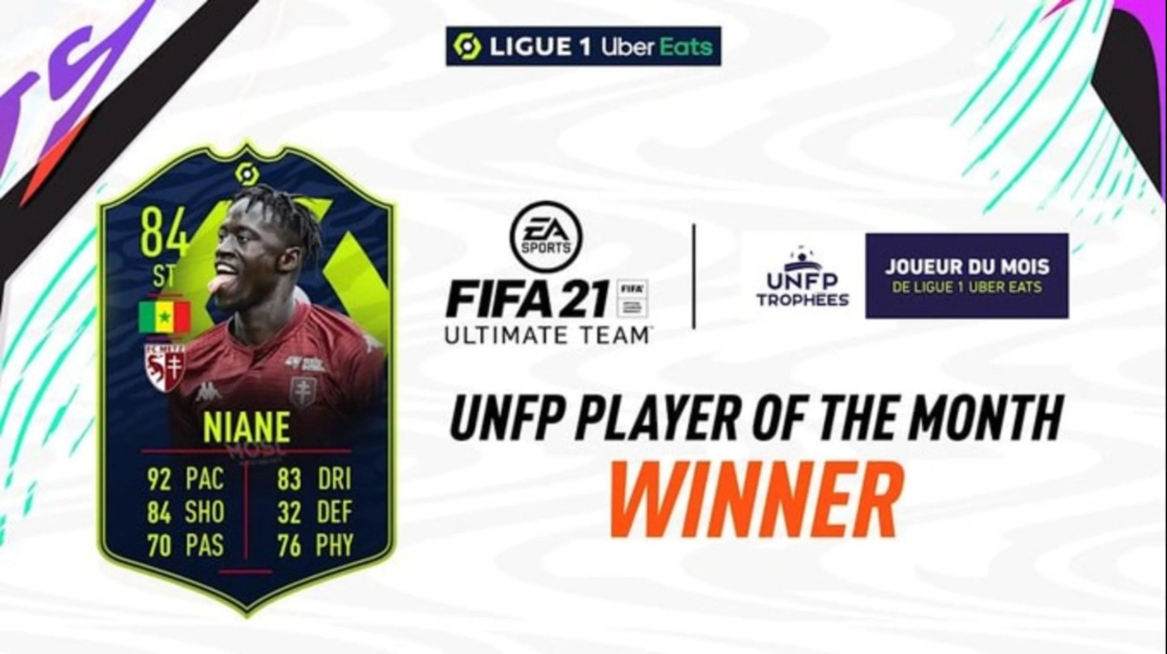 Should You Do The Ibrahima Niane Ligue 1 POTM SBC In FIFA 21? Three Weeks In And This Card Is Already Behind The Curve