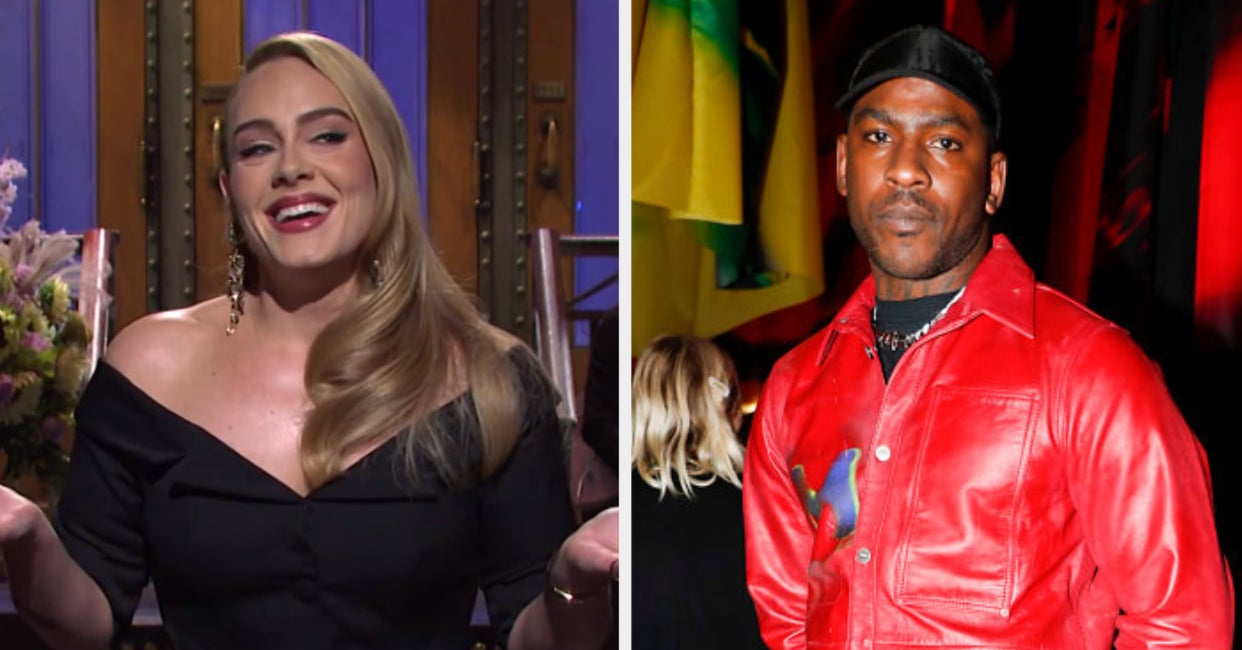 "Adele Said That She's ""Single"" In The Midst Of A Bunch Of Skepta Dating Rumors"