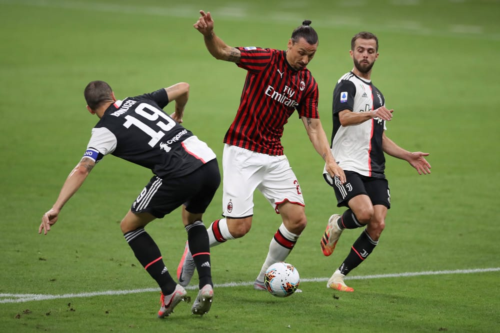 Zlatan Ibrahimovic Shines With a Brace in AC Milan's Win Over Inter Milan, 2-1