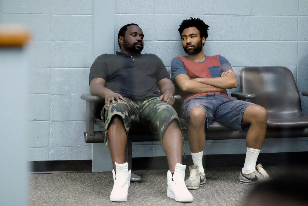 Brian Tyree Henry, Donald Glover in 'Streets On Lock' (Season 1, Episode 2, aired September 6, 2016).