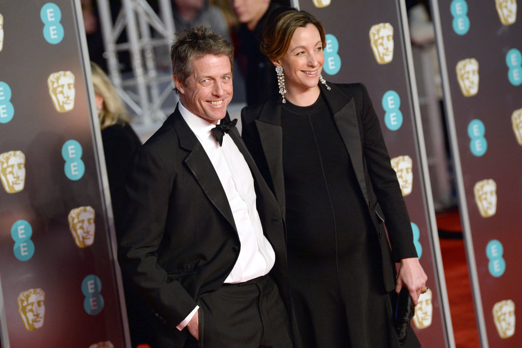 Hugh and Anna at the 2018 BAFTAs