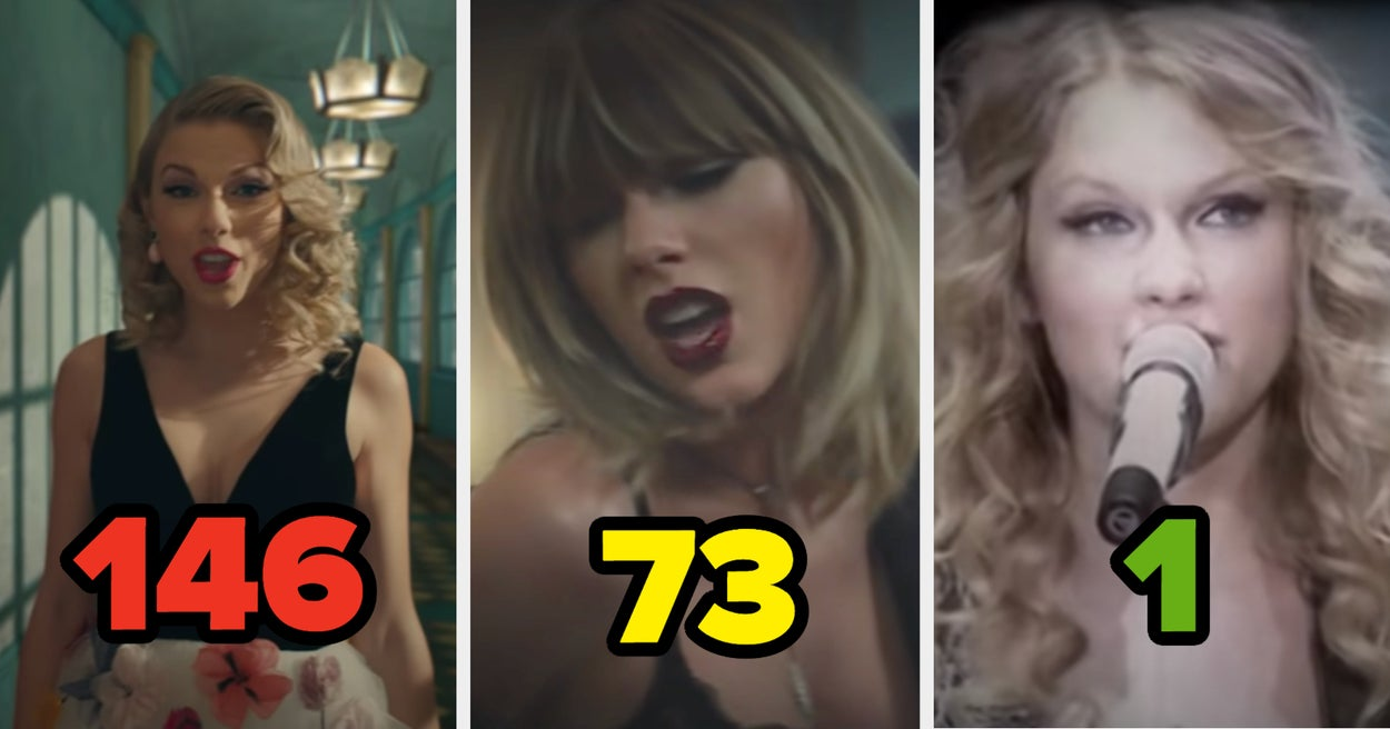Here's My Definitive Ranking Of Every Taylor Swift Song