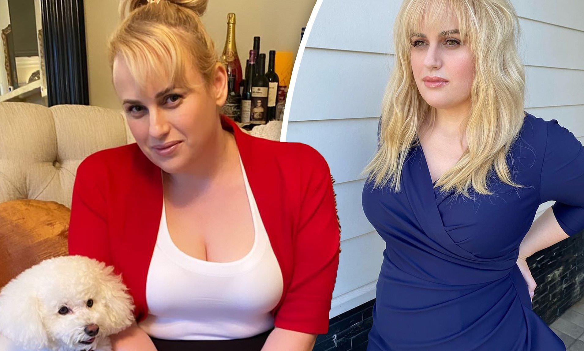 Rebel Wilson Reaches Her Goal Weight With One Month To Spare!